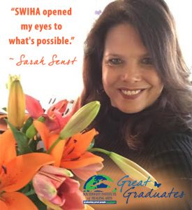Sarah Senst Great Graduate SWIHA
